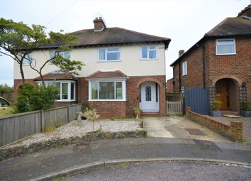 Thumbnail 3 bed semi-detached house for sale in Hook Close, Folkestone