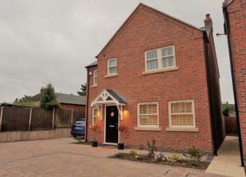 Thumbnail 4 bed detached house for sale in Main Street, Desford, Leicester