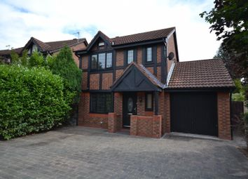 Thumbnail 3 bed detached house for sale in Leamington Close, Great Sankey, Warrington