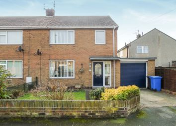 Thumbnail 3 bedroom semi-detached house for sale in St. Johns Estate, South Broomhill, Morpeth