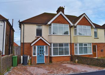 Thumbnail 3 bedroom semi-detached house for sale in Crunden Road, Eastbourne