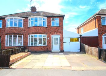 3 bed semi-detached house for sale in Fairbourne Road, Leicester LE3