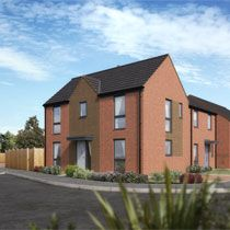 Thumbnail 3 bedroom detached house for sale in Matlock Avenue, Telford, Shropshire
