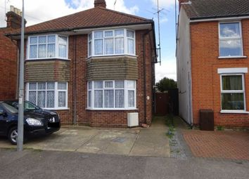 Thumbnail 2 bed semi-detached house for sale in Parliament Road, Ipswich, Suffolk