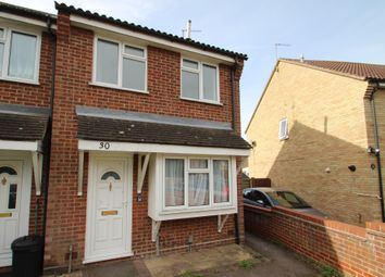 Thumbnail 2 bed terraced house to rent in Sinnington End, Colchester, Essex