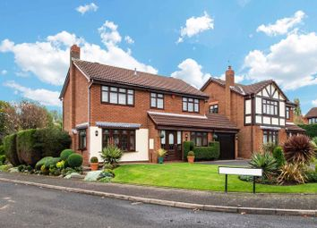 Thumbnail 4 bed detached house for sale in Windermere Drive, Kingswinford