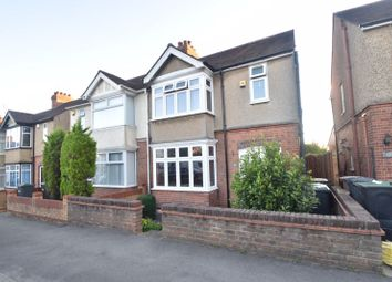 Thumbnail 3 bed semi-detached house to rent in Rutland Crescent, Luton