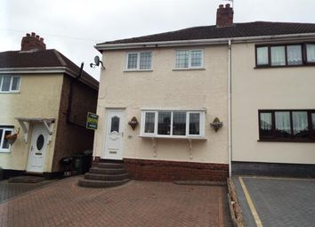 Thumbnail 3 bed semi-detached house for sale in Fieldhouse Road, Hednesford, Cannock, Staffordshire