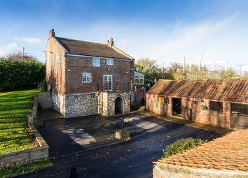 Thumbnail 4 bedroom detached house for sale in New Bridge Farm, East Cowick, Goole