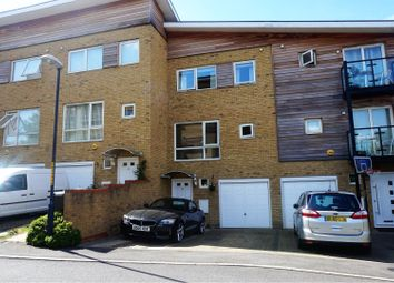 Thumbnail 4 bed town house for sale in Brunell Close, Maidstone