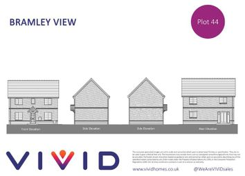 Thumbnail 3 bed detached house for sale in Vivid @ Bramley View, Bramley, Tadley