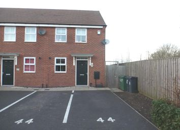 Thumbnail 2 bed end terrace house for sale in Water Reed Grove, Walsall