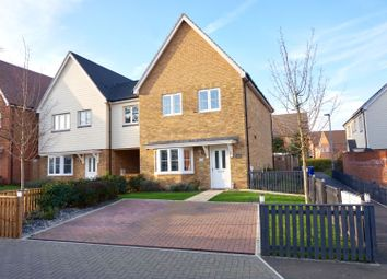 Thumbnail 3 bed link-detached house for sale in Clayhill Gardens, Rochester