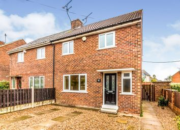 Thumbnail 3 bedroom semi-detached house for sale in Bellscroft Avenue, Thrybergh, Rotherham