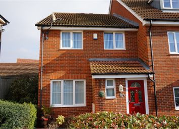 Thumbnail 3 bed end terrace house for sale in Rivenhall Way, Rochester