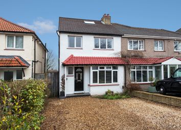 Thumbnail 4 bed semi-detached house for sale in Windborough Road, Carshalton