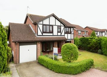 Thumbnail 4 bedroom detached house for sale in Balfour Way, Strensall, York