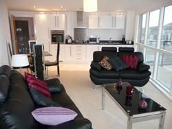 Thumbnail 2 bed flat to rent in Aurora, Trawler Road, Maritime Quarter, Swansea