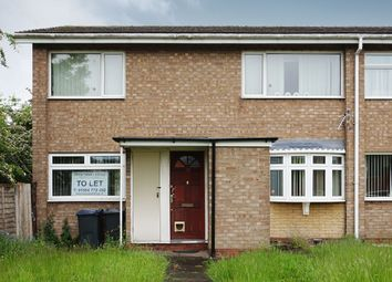 Thumbnail 2 bed maisonette to rent in Selby Close, Yardley