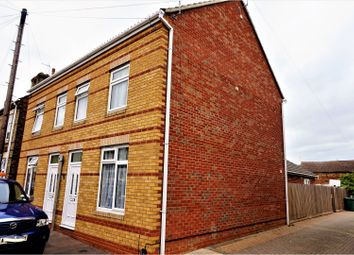 Thumbnail 3 bedroom semi-detached house for sale in Bamber Street, Peterborough