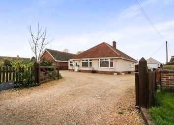 Thumbnail 3 bedroom detached bungalow for sale in Hargham Road, Attleborough
