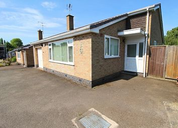 Thumbnail 2 bed detached bungalow for sale in Herrick Drive, Thurnby, Leicester