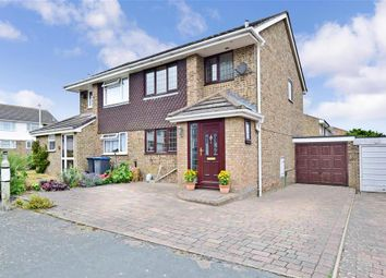 Thumbnail 3 bed semi-detached house for sale in Burgess Close, Whitfield, Dover, Kent