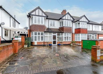 Thumbnail 5 bed semi-detached house for sale in Wickham Avenue, Cheam, Surrey