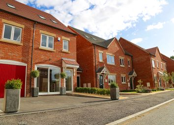 Thumbnail 3 bed town house for sale in The Maple, Greendale Gardens, Hucknall, Nottinghamshire