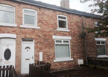 Thumbnail 2 bed terraced house to rent in Katherine Street, Ashington