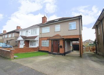 Thumbnail 5 bed semi-detached house for sale in Kingshill Avenue, Hayes, Middlesex