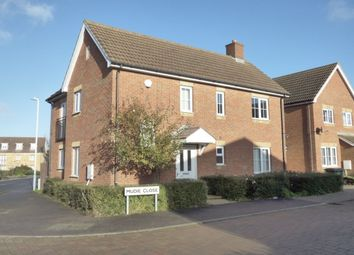 Thumbnail 3 bed detached house for sale in Mudie Close, Hawkinge, Folkestone