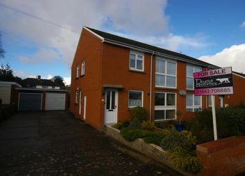 Thumbnail 2 bedroom flat for sale in Hillview Road, Minehead