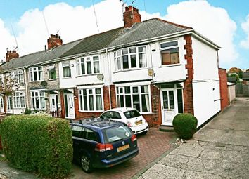 Thumbnail 3 bed terraced house for sale in Newington Avenue, Hull