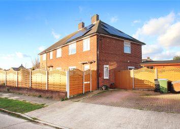 Thumbnail 3 bed semi-detached house for sale in Griffin Crescent, Littlehampton, West Sussex