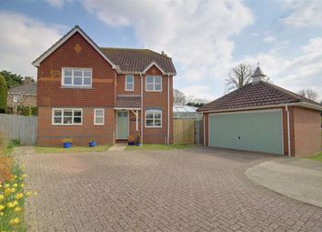 Thumbnail 4 bed detached house for sale in Hurston Close, Findon Valley, West Sussex