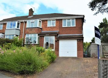 Thumbnail 4 bed semi-detached house for sale in Southview Road, Sedgley