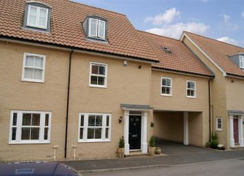 Thumbnail 4 bedroom town house for sale in Abbots Gate, Bury St. Edmunds