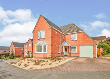 Thumbnail 4 bed detached house for sale in Thorpe Close, Stapenhill, Burton-On-Trent, Staffordshire