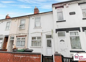 Thumbnail 3 bedroom terraced house for sale in Paget Street, Wolverhampton