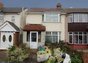 Thumbnail 3 bedroom semi-detached house for sale in Birch Road, Romford, Greater London