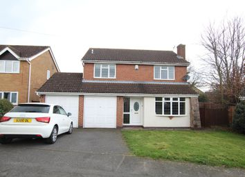 Thumbnail 4 bed detached house to rent in Halford Close, Whetstone, Leicester