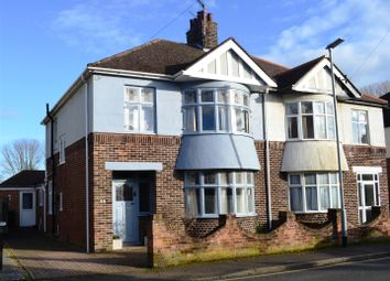 Thumbnail 3 bed semi-detached house for sale in King George V Avenue, King's Lynn