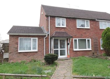 Thumbnail 4 bed semi-detached house for sale in St. Marys Drive, Crawley