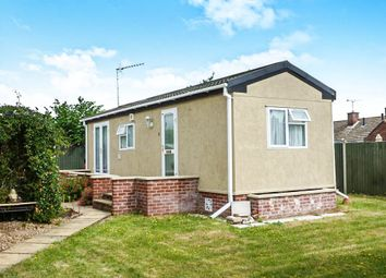 Thumbnail 1 bedroom mobile/park home for sale in Ashdale Park, London Road, Brandon