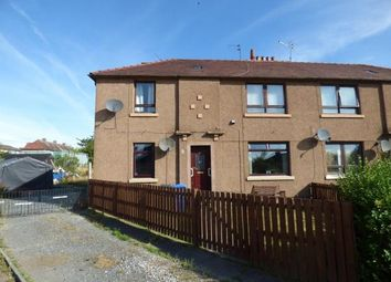Thumbnail 2 bed flat for sale in Cardross Crescent, Broxburn, West Lothian
