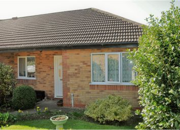 Thumbnail 2 bedroom bungalow for sale in The Poplars, Leicester