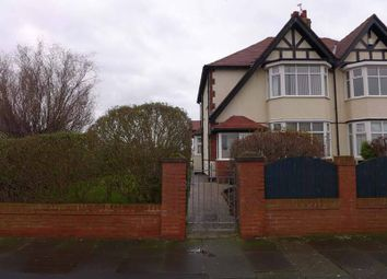 Thumbnail 3 bed semi-detached house for sale in Links Road, Blackpool