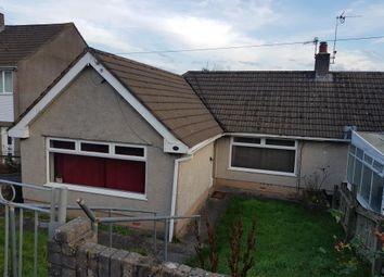 Thumbnail 2 bed bungalow to rent in Heol Barri, Caerphilly