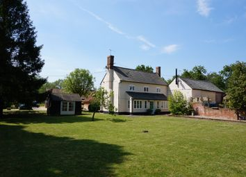 Thumbnail 4 bed detached house for sale in Stoke Road, Layham, Ipswich